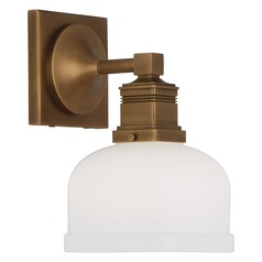 Robert Abbey Taylor Aged Brass Sconce