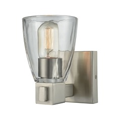 Elk Lighting Ensley Satin Nickel Sconce