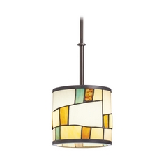 Kichler Lighting Kichler Mini-Pendant Light with Multi-Color Glass 65346