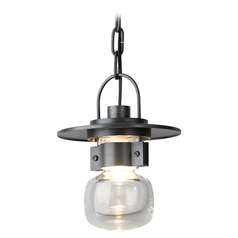 Hubbardton Forge Lighting Mason Burnished Steel Outdoor Hanging Light