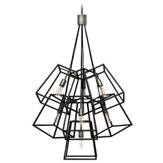 Hinkley Lighting Fulton Aged Zinc Pendant Light