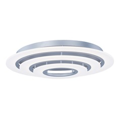 Et2 Saturn Ii LED Matte Silver LED Flushmount Light