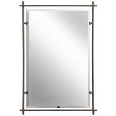 Kichler Abbeyville Rectangle 26.38-Inch Mirror