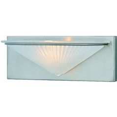 Lite Source Lighting Damon Polished Steel Sconce