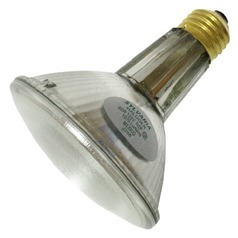Sylvania Lighting 60-Watt PAR30 Long Neck Narrow Spot Halogen Light Bulb 16166