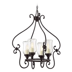 Savoy House Lighting Weston English Bronze Outdoor Chandelier