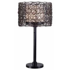 Kenroy Home Lighting Outdoor Table Lamp 32219BRZ