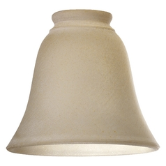 Quorum Lighting 2812G Amber Frost Bell