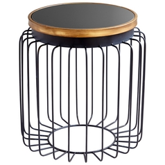 Cyan Design Brandy Gold & Black Table