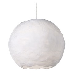 Kuzco Lighting Modern White LED Pendant 3000K 5000LM