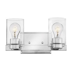 Hinkley Lighting Miley Chrome Bathroom Light