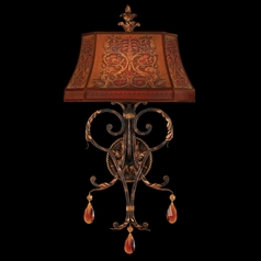 Fine Art Lamps Brighton Pavillion Bronzed Sienna Sconce