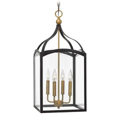 Hinkley Lighting Clarendon Bronze Pendant Light with Rectangle Shade