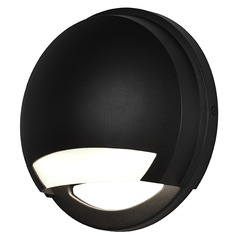 Access Lighting Avante Black LED Outdoor Wall Light