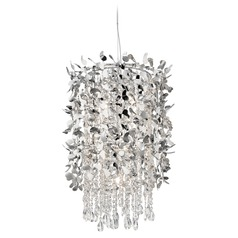 Elan Lighting Alexa Chrome Pendant Light