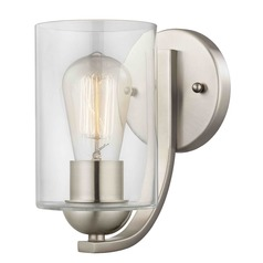 Design Classics Dalton Fuse Satin Nickel Sconce