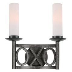 Crystorama Lighting Odette English Bronze Sconce