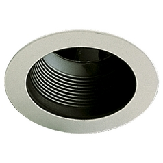 Quorum Lighting Gloss Black Recessed Trim
