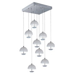 Parasol 9-Light LED Pendant