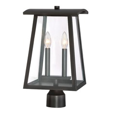 Designers Fountain Calderwood Burnished Bronze Post Light