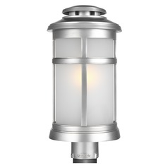 Feiss Lighting Newport Painted Brushed Steel Post Light