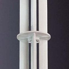 6-Inch Downrod for Minka Aire Fans - Brushed Nickel Finish