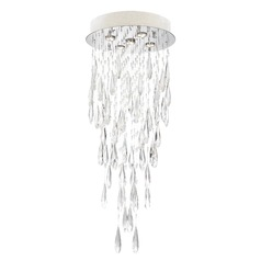 Lite Source Lorelle Chrome LED Multi-Light Pendant