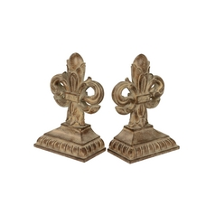 Iris Decorative Bookends