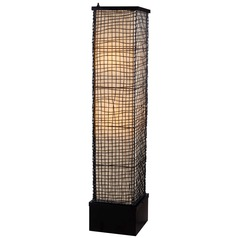 Modern Floor Lamp in Bronze Finish