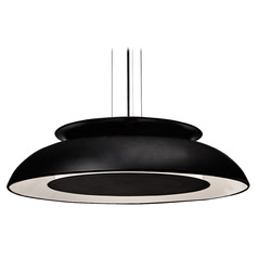 Kuzco Lighting Transitional Black LED Pendant 3000K 426LM