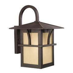 Sea Gull Lighting Medford Lakes Statuary Bronze LED Outdoor Wall Light