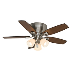 Casablanca Fan Durant Brushed Nickel Ceiling Fan with Light