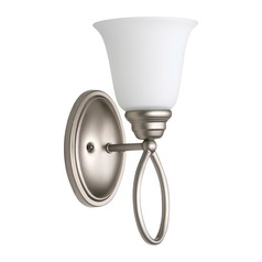 Craftmade Lighting Cordova Satin Nickel Sconce
