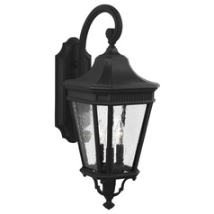 Feiss Lighting Cotswold Lane Black Outdoor Wall Light