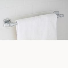 Norwell Lighting Soft Square Chrome Towel Bar