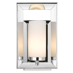 Golden Lighting Smyth Ch Chrome Sconce
