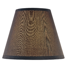 Black Empire Lamp Shade with Uno Assembly