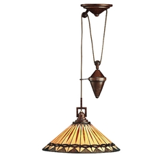 Kichler Lighting Kichler Pull-Down Tiffany Pendant 65273