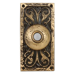 Craftmade Lighting Burnished Brass LED Doorbell Button