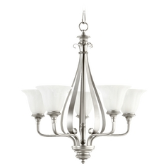 Quorum Lighting Randolph Classic Nickel Chandelier
