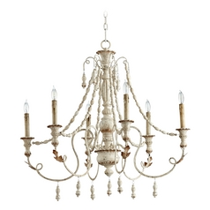 Cyan Design Lyon Persian White Chandelier