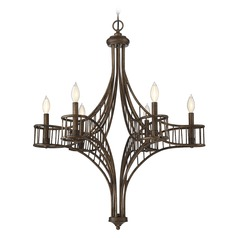 Savoy House Lighting Licton Guilded Bronze Chandelier