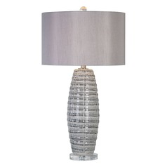 Uttermost Brescia Grey Ceramic Lamp