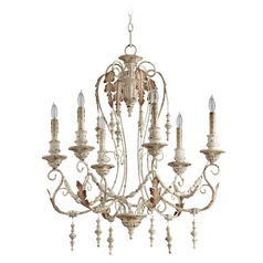Cyan Design Lolina Persian White Chandelier