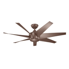 Kichler Lighting Lehr Ii Coffee Mocha Ceiling Fan Without Light