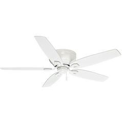 Casablanca Fan Durant Snow White Ceiling Fan Without Light