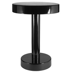 Kenroy Home Weldon Black Powder Coated Accent Table