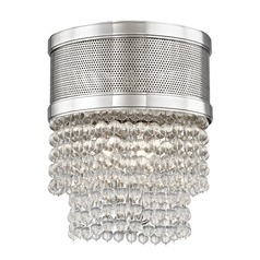 Hudson Valley Lighting Harrison Polished Nickel Flushmount Light