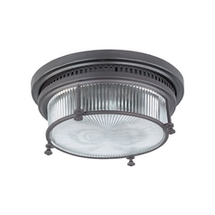 Maxim Lighting Hi-Bay Bronze Flushmount Light