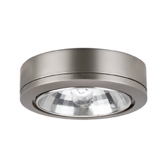 12V Xenon Puck Light Recessed / Surface Mount Brushed Nickel by Sea Gull Lighting